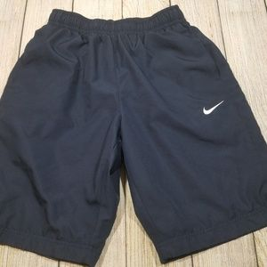 Nike Mens Mesh Lined Athletic Shorts Blue Small